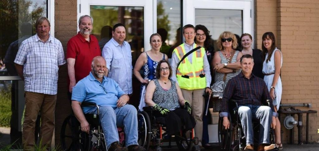 Attendees for the Metro Quality Council Disability Walk